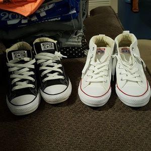 8833845f28c288 Women s Clear Converse Sneakers on Poshmark